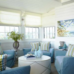 Beach-Living-Room-Decorating-Ideas-With-Sofa-Blue